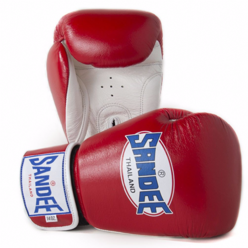 Sandee Authentic Boxing Gloves - Red